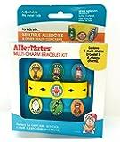 AllerMates New Multi Allergy Bracelet Kit for Children Including Epi Pen Charm