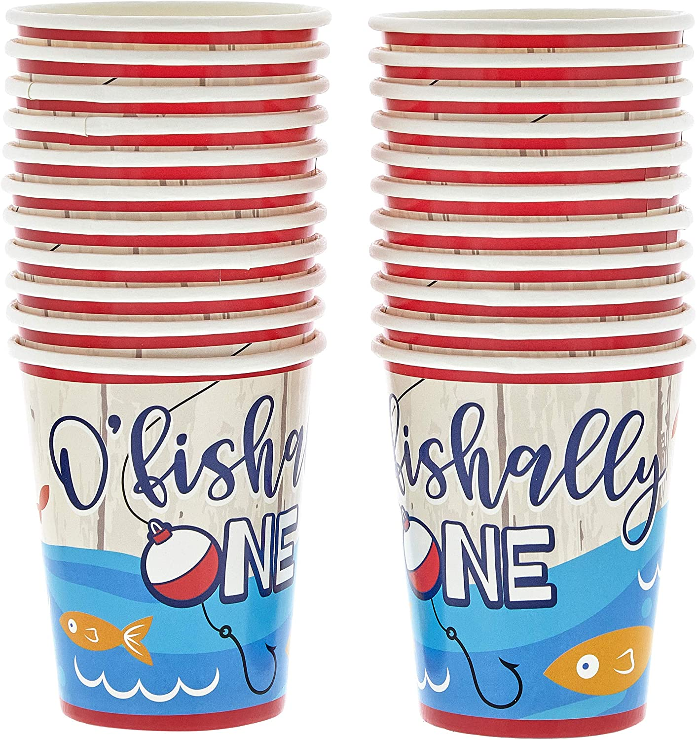 123 Pieces Ofishally One 1st Birthday Party Supplies Table Cover Decor Dinnerware