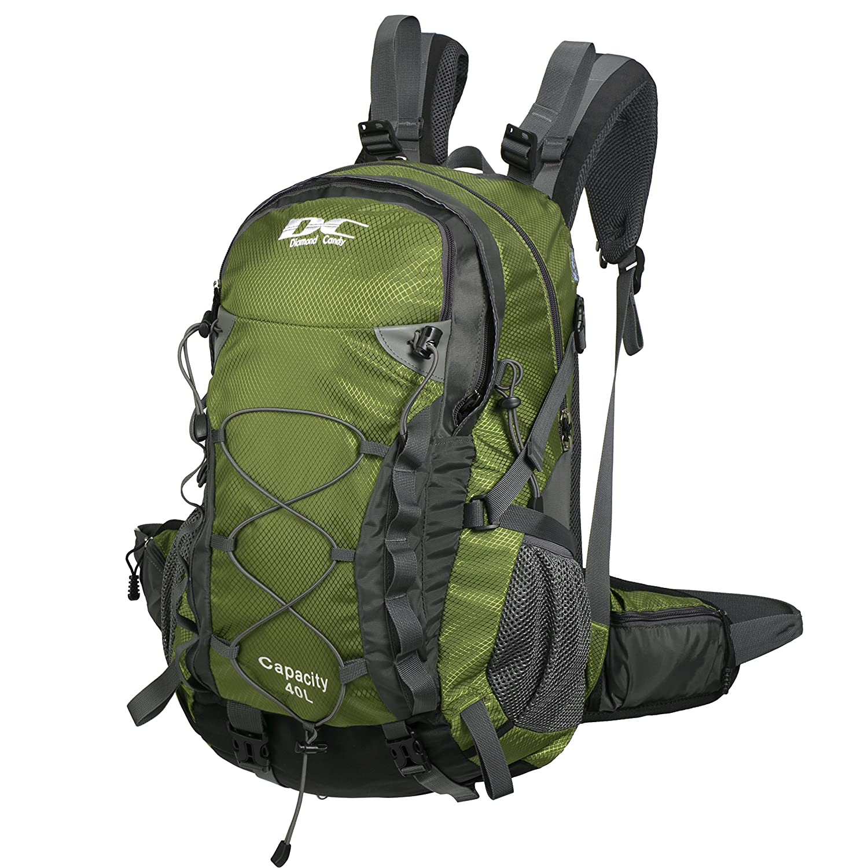 Amazon.com : Diamond Candy Travel Waterproof Backpacks 40L Outdoor ...