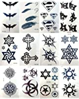12 sheets temporary tattoo stickers tattoo lower back