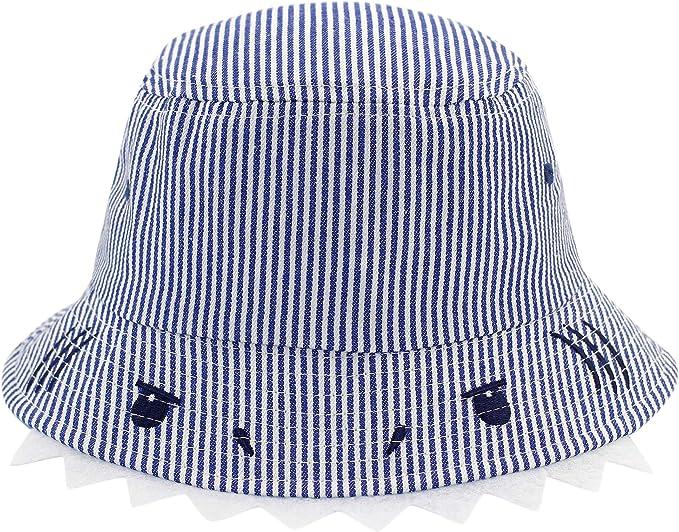 Niños Niñas Sombrero para el Sol Protección UV Bebé Algodón ...