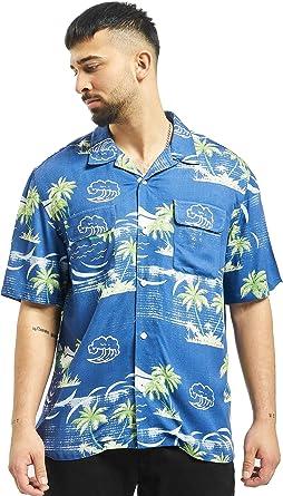 Edwin – Camisa Manga Corta – Garage Island – Azul: Amazon.es: Ropa y accesorios