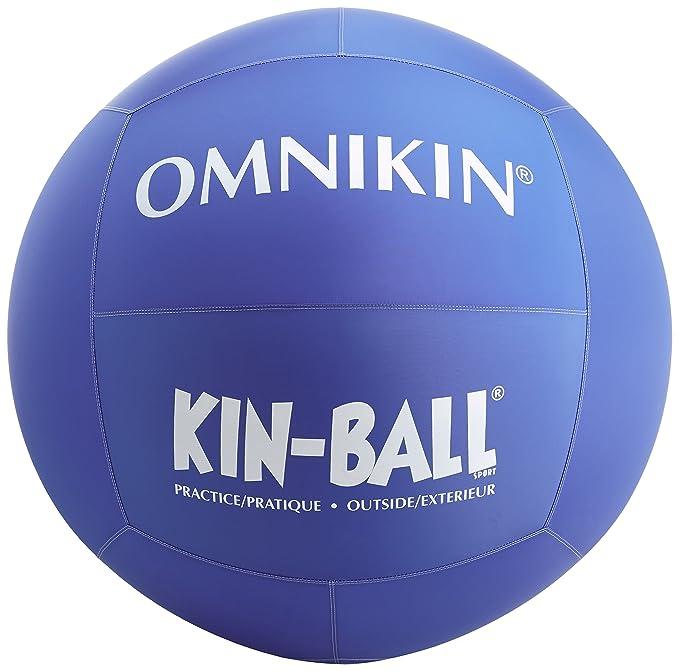 Omnikin Kin - Pelota para Exteriores Azul: Amazon.es: Deportes y ...
