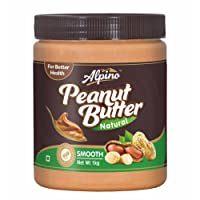 Alpino Natural Peanut Butter Smooth 1Kg (Unsweetened)