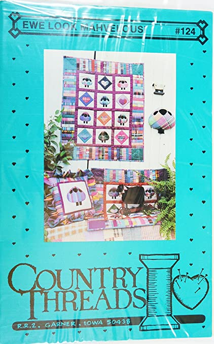 Amazon Ewe Look Mahvelous Sheep Quilt By Country Threads Quilt