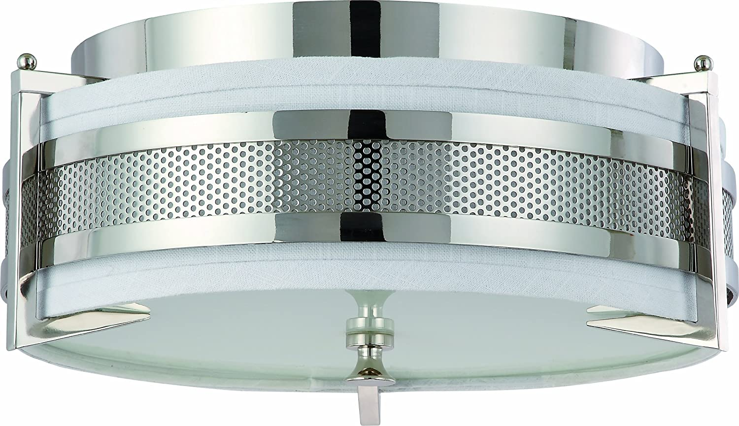 Sylvania 75253 LED Indoor Ceiling Mounted Fixture - Flush Mount ...