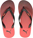 Puma Men's Conik Idp Black-High Risk Red Sneakers - 6 UK  (25CM)  (36853202)