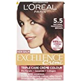 L'Oreal Excellence Permanent Hair Colour 5.5 Mahogany Brown