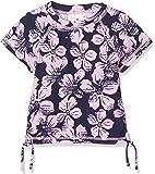 Snapper Rock Girls UPF 50+ Sun UV Protection Cool Short Sleeve Swim Shirt Rash Vest For Kids & Teens