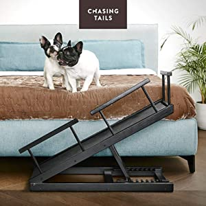 Chasing Tails Dog Ramp for Bed