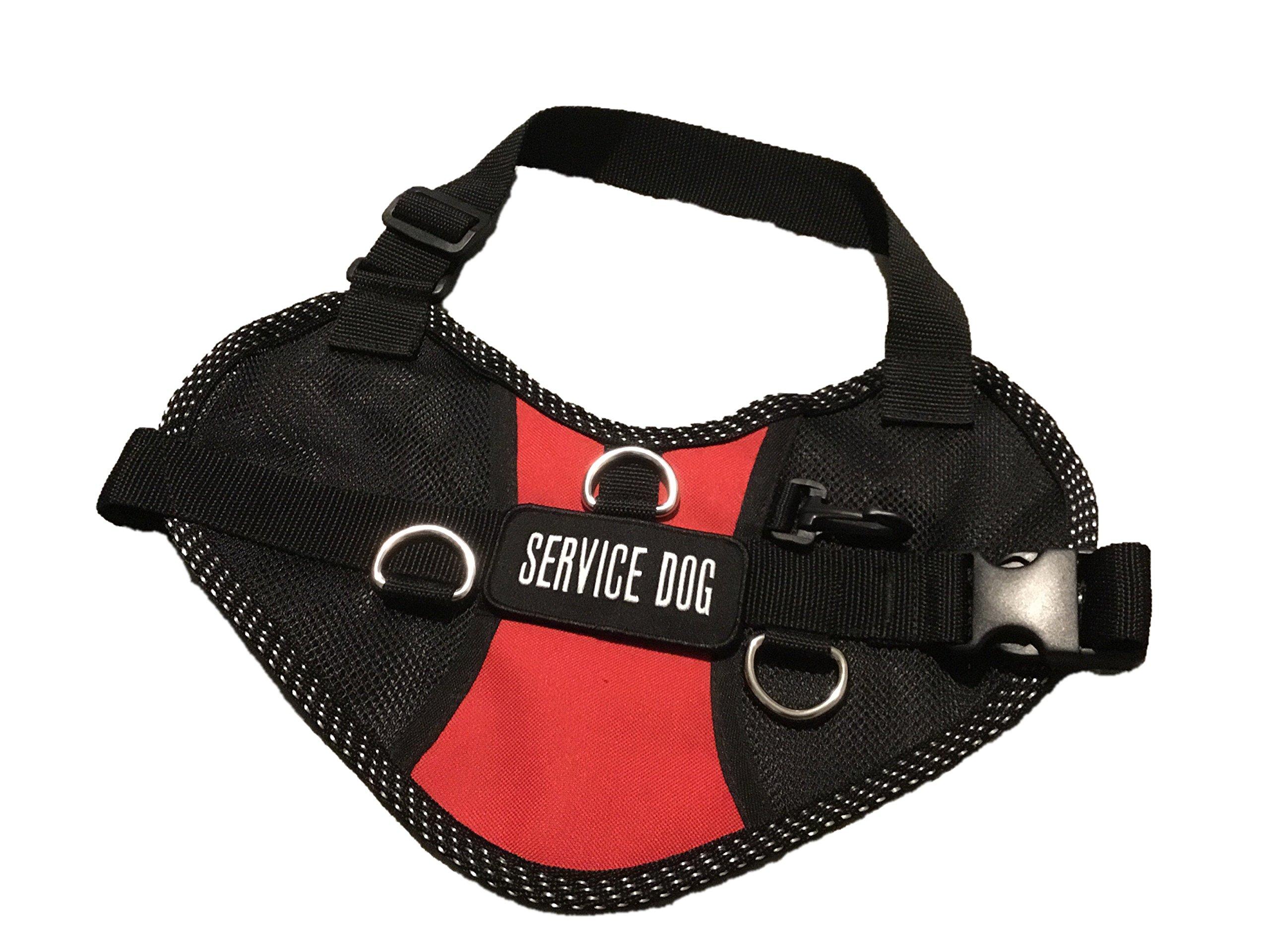 """S.A. Shop Service Dog Vest (XXS 11-14""""=4-8 LBS)"""