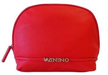 cc86c58ac1644 Valentino Sea VBE2JG533 Rosso Damen Kosmetiktasche Kulturtasche Rot  (25x20x9cm)