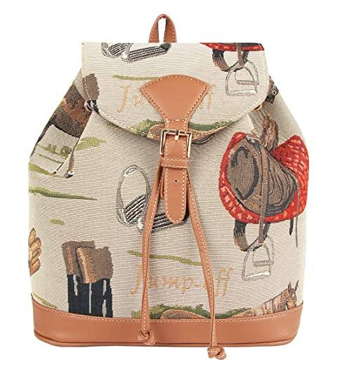 Signare - Mochila casual Mujer marrón marrón medium: Amazon.es: Zapatos y complementos