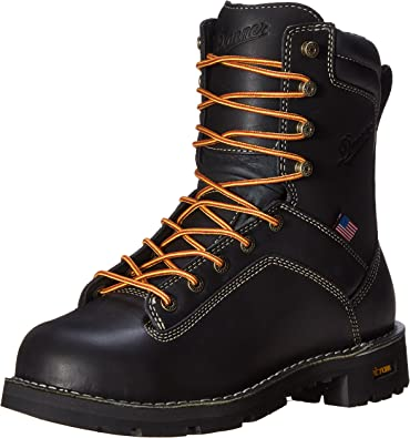 Amazon.com | Danner Men's Quarry USA 8-Inch Alloy Toe Work Boot |  Industrial & Construction Boots