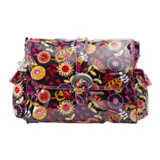 Kalencom Laminated Buckle Bag, Dandelion Berries