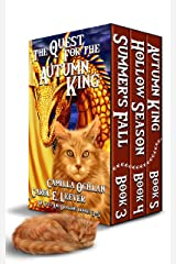 The Quest For The Autumn King: Summer's Fall, Hollow Season, Autumn King (Of Cats And Dragons) Kindle Edition