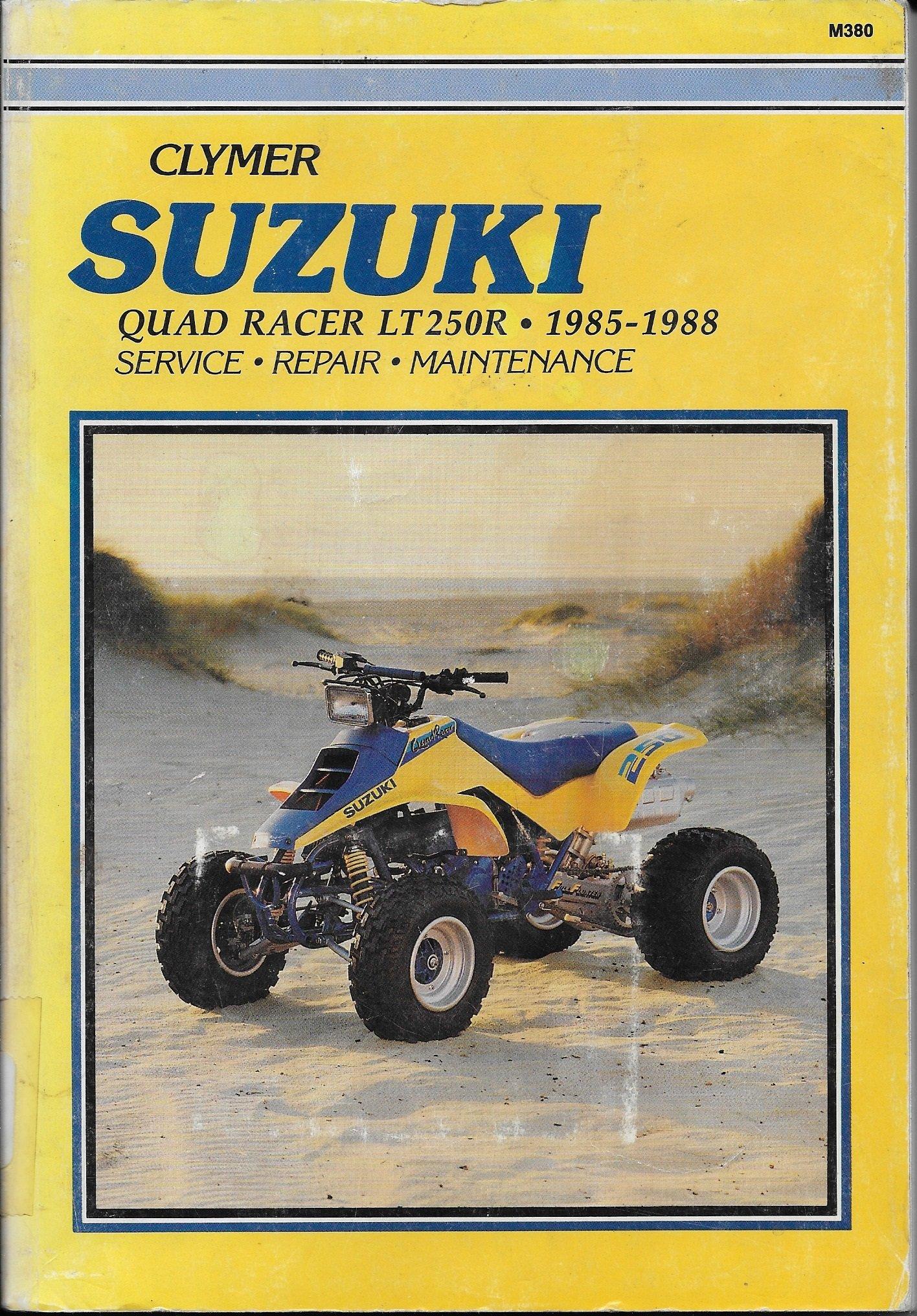Suzuki Quad Racer Lt250R: 1985-1988 : Service-Repair-Maintenance/M-380: Ed  Scott: 9780892874460: Amazon.com: Books