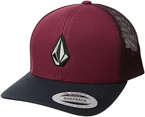 f853f215 Volcom Men's Full Stone Cheese Hat, Floyd red, ONE Size FITS All