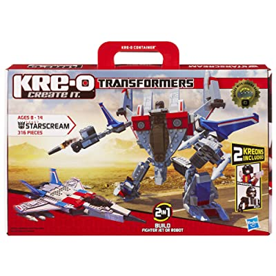 KRE-O Transformers Starscream Construction Set (30667): Toys & Games [5Bkhe0905102]