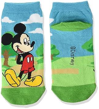 calcetines de Disney Mickey Mouse calcetines ex Mickey 5 22‡p azul-verde ~ 24cm AWDS2961: Amazon.es: Juguetes y juegos