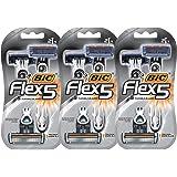BIC Flex 5 Disposable Razor, 6 Count