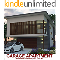 Garage Apartment 2 Bedroom house plan-Carriage House Design Concept Plan: Concept plans includes detailed floor plan and elevation plans (English Edition)
