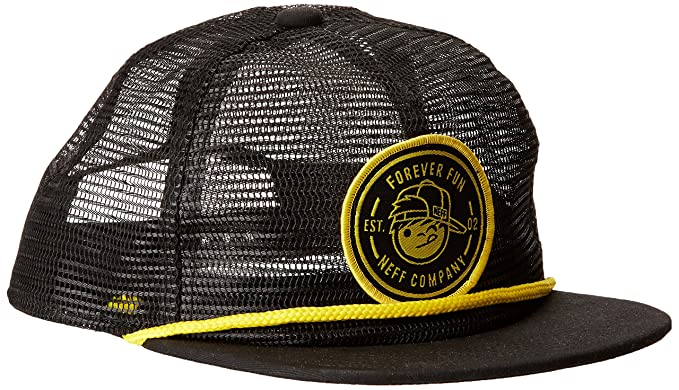 00b642be867 Amazon.com  Neff Boys Kenni G Adjustable Hat One Size Black  Toys   Games