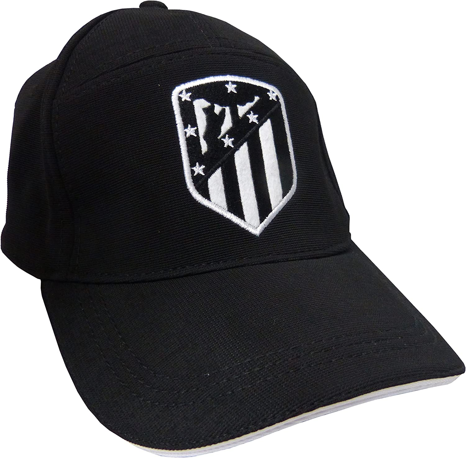 GORRA ATLETICO DE MADRID ADULTO NEGRA: Amazon.es: Deportes y aire ...