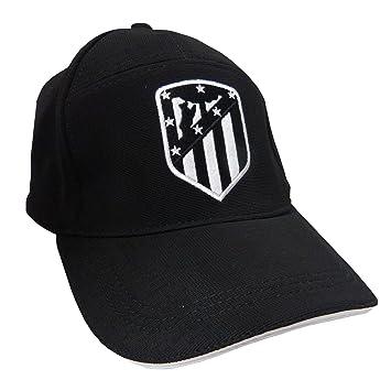 GORRA ATLETICO DE MADRID ADULTO NEGRA  Amazon.es  Deportes y aire libre 52bb0205713