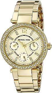 Michael Kors Womens Parker Gold-Tone Watch MK6056