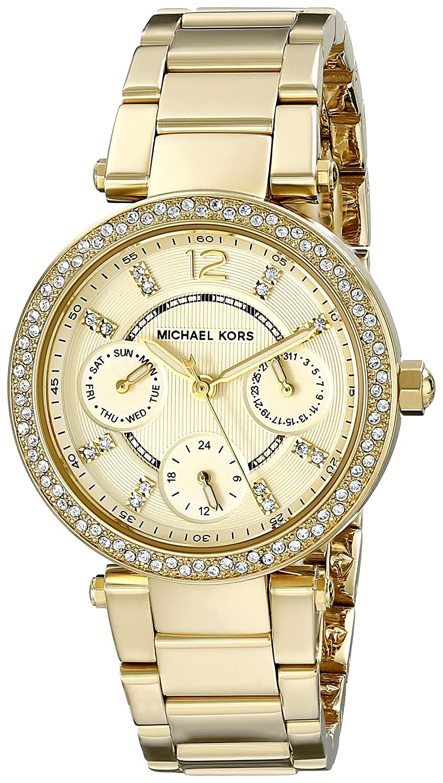 1209eaac0506 Amazon.com  Michael Kors Women s Parker Gold-Tone Watch MK6056  Michael Kors   Watches