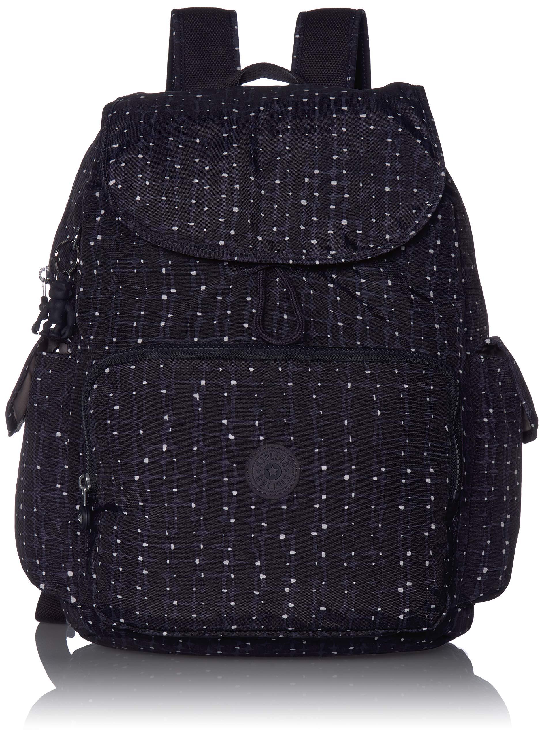 Kipling womens Zax Backpack Diaper Bag, Tile Print, One Size