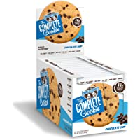 Lenny & Larry's The Complete Cookie, Chocolate Chip, Soft Baked, 16g Plant Protein, Vegan, 4-Ounce Cookies (Pack of 12)