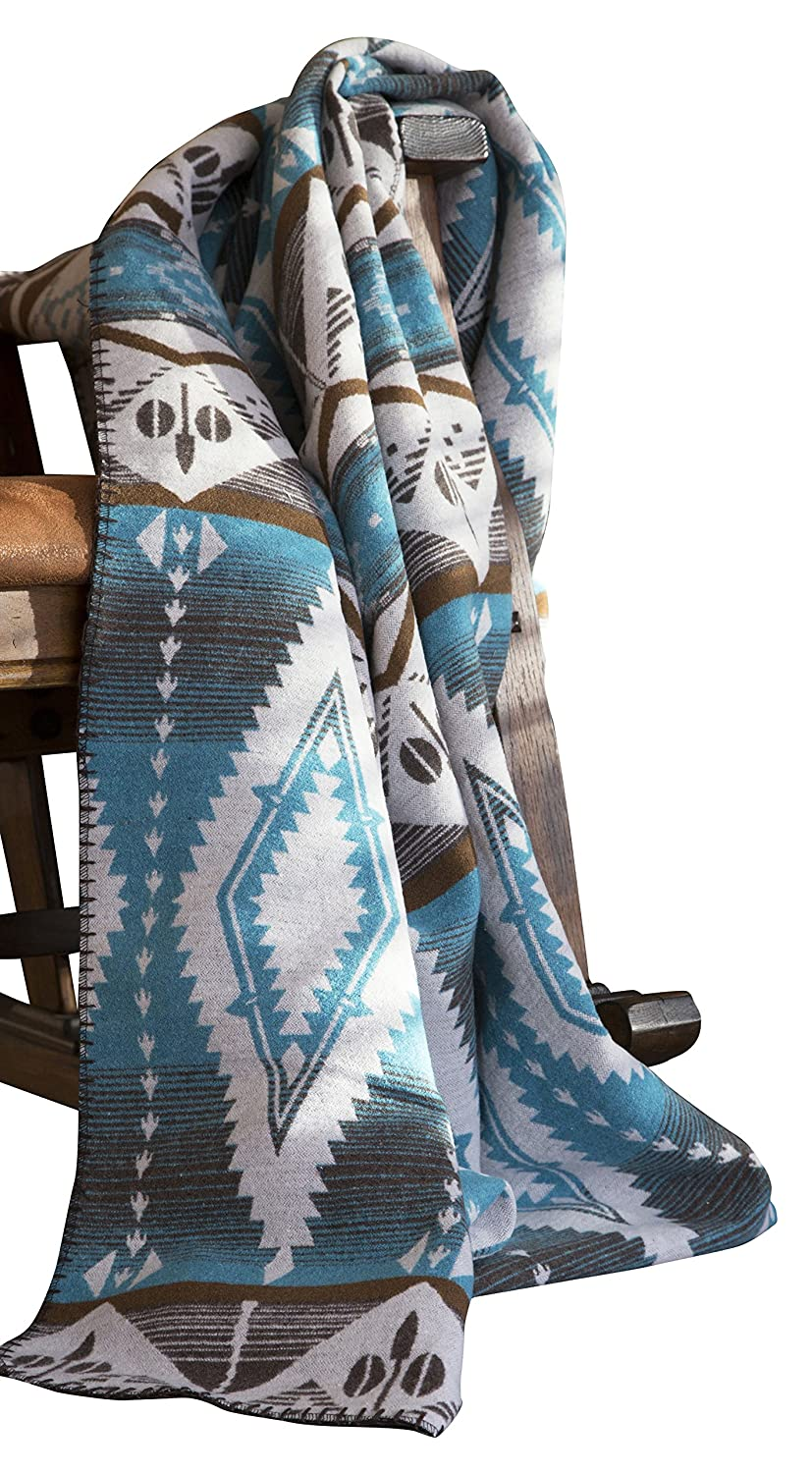 Inc Turquoise Earth Throw Blanket Carstens