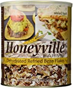 HoneyVille Farms Dehydrated Refried Bean Flakes