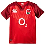 Canterbury Kid's England Alternate Pro Rugby Short Sleeve Jersey - Red