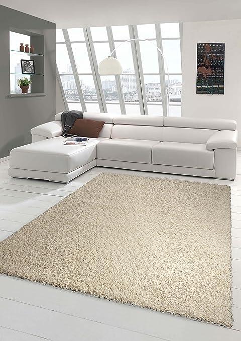 LIFE Teppich  in versch black Hochfloor Läufer Wohnzimmerteppich Größen