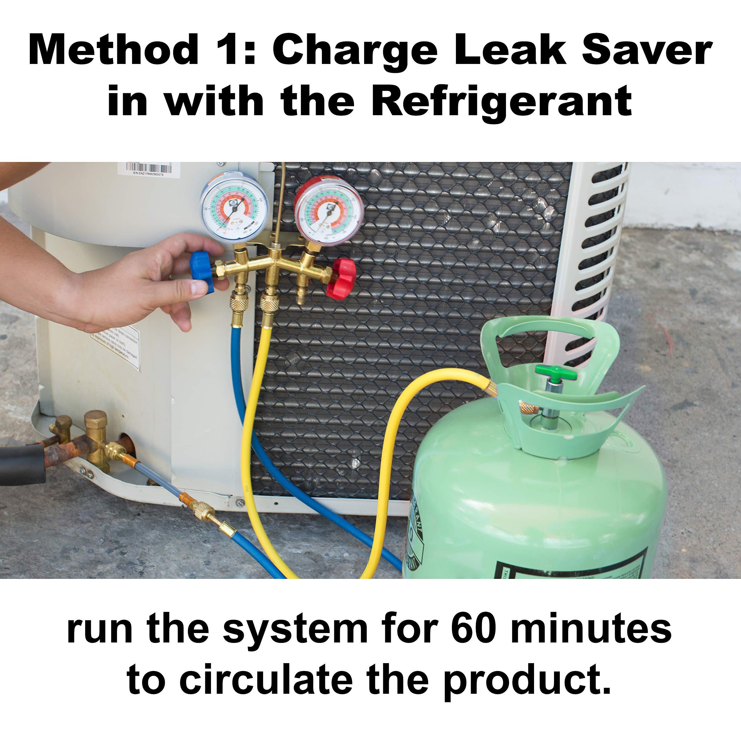 Leak Savers Direct Inject Refrigerant Leak Sealer with UV Dye (3 Pack) by Leak Savers (Image #4)