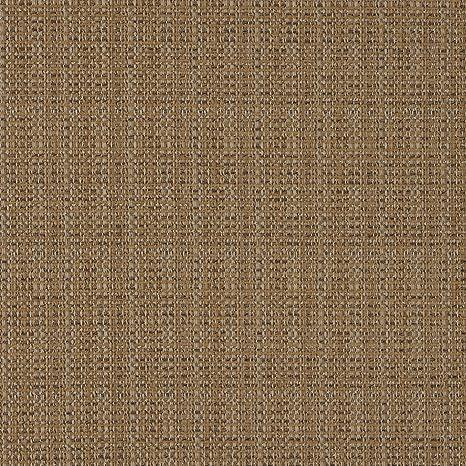 Amazon.com: Sisal oro metálico Beige textura tejida tela de ...