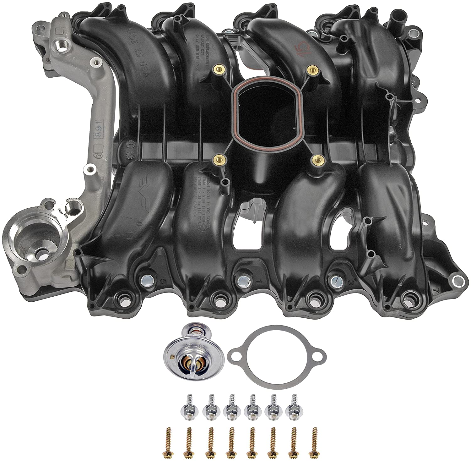 Dorman 615 178 Upper Intake Manifold For Select Ford 1997 Mercury Grand Marquis Radio Wiring Diagram Lincoln Models Automotive