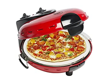 bestron pizza stone oven red bestron pizza stone oven red  amazon co uk  kitchen  u0026 home  rh   amazon co uk