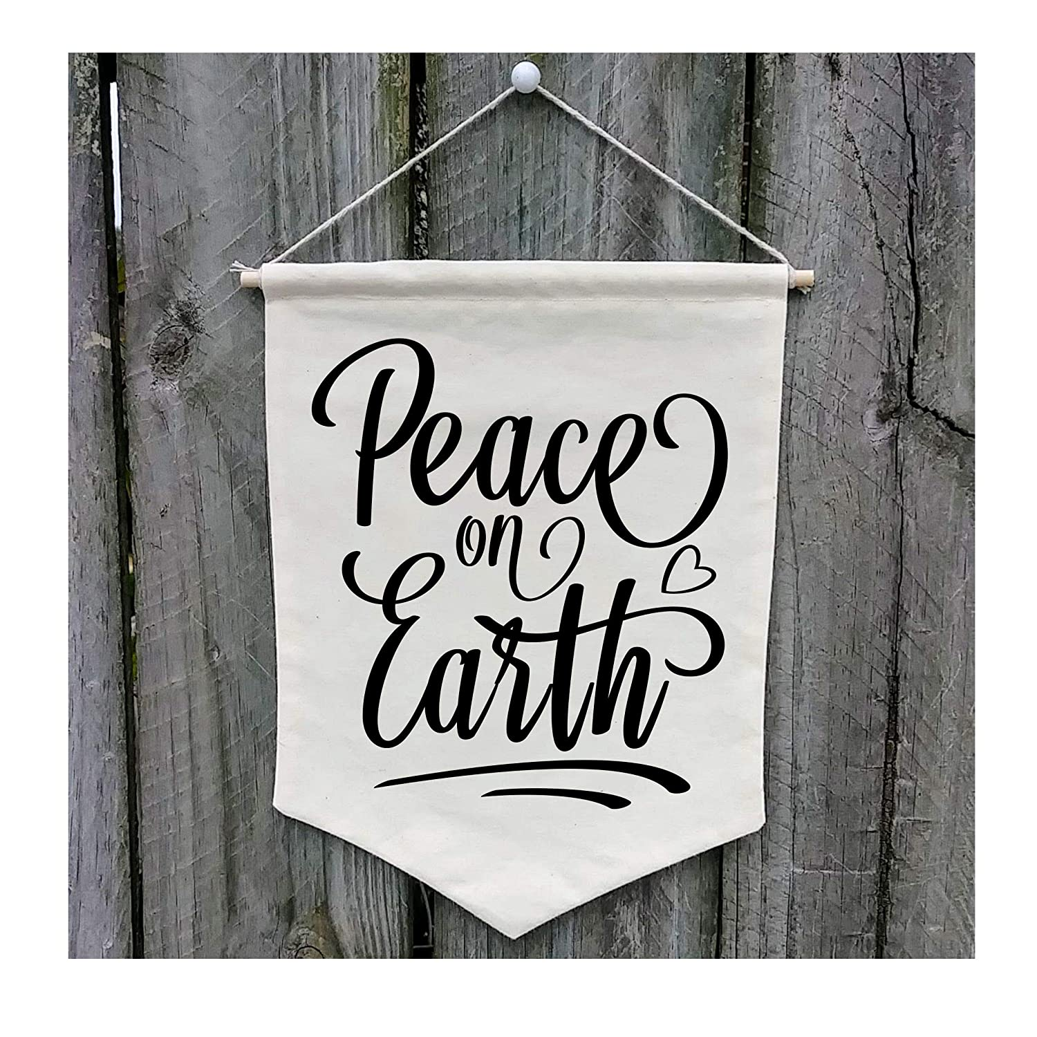 Peace on Earth Wall Banner - Customize WB403
