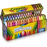 Crayola Washable Sidewalk Chalk, 64ct, Outdoor Gifts for Kids, Easter Basket Stuffers