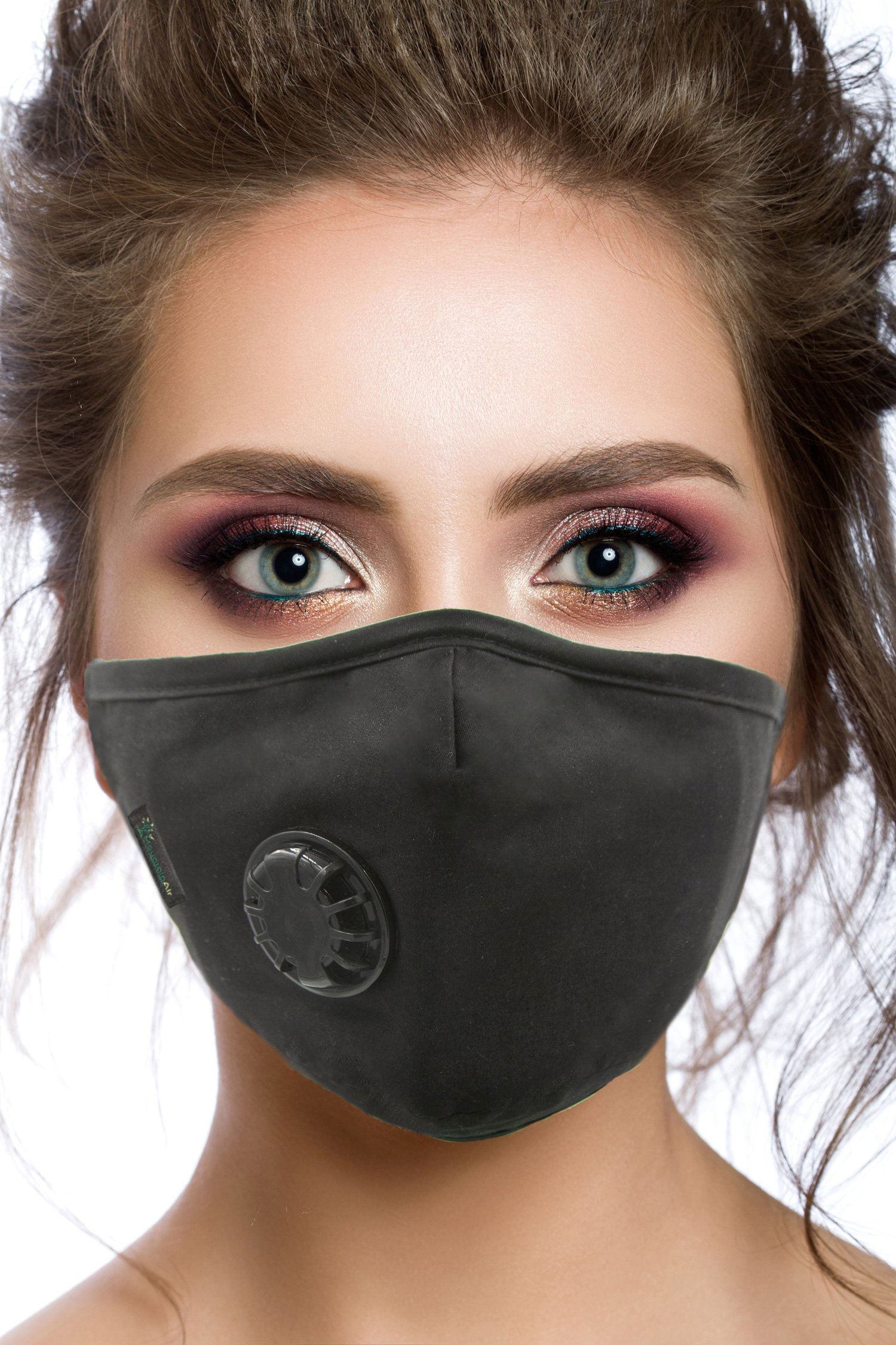 Air Pollution Face Mask with Filter and Respirator - Anti-Dust, Smoke, Gas and Allergies - Military Grade - Washable and Reusable - Supports Breathing Clean Air - N99 Protection