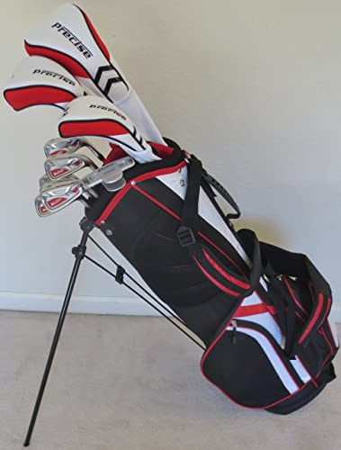 Ladies Complete Golf Set Driver, Fairway Wood, Hybrid, Irons, Putter, and Stand Bag