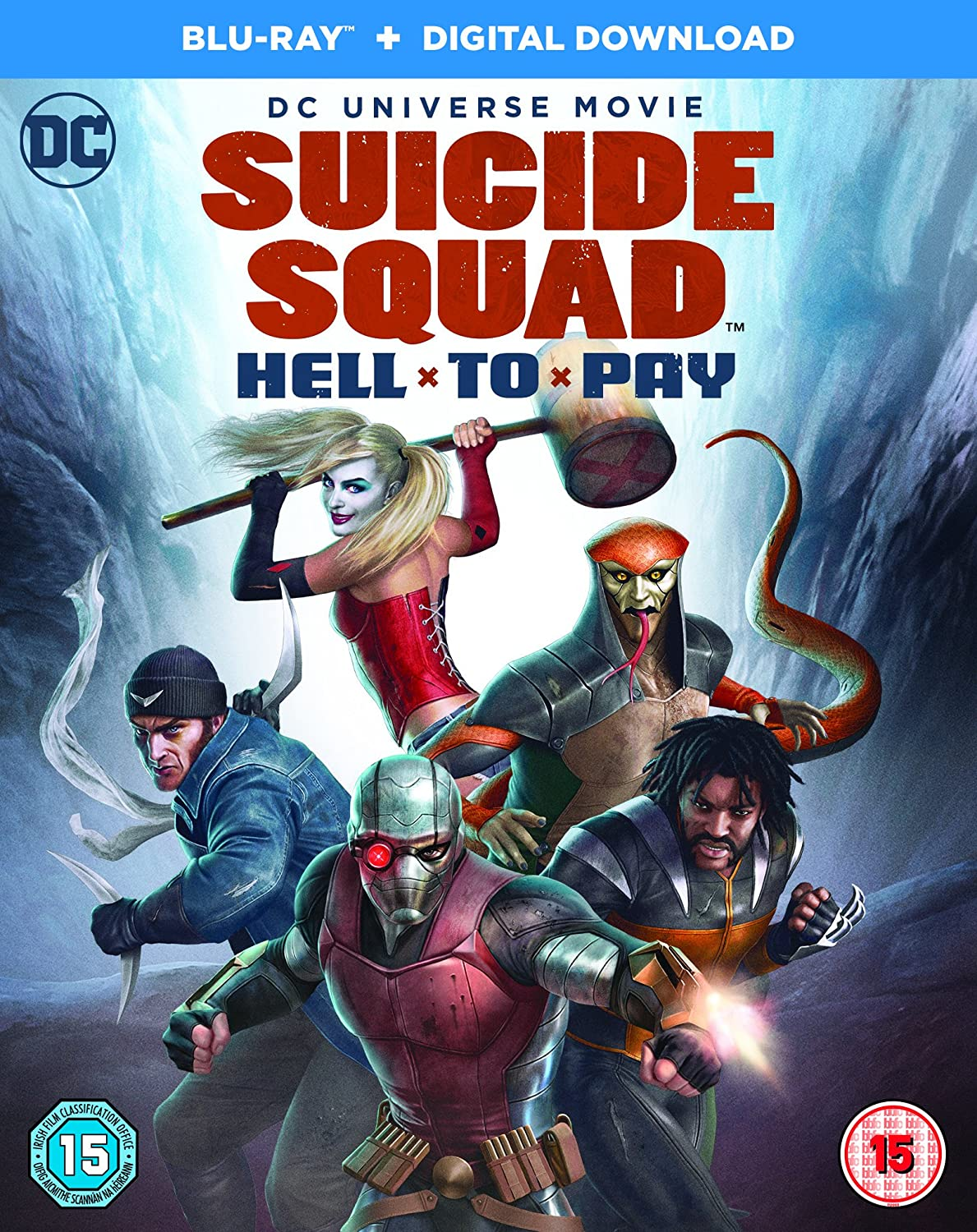 Amazon.com: Suicide Squad: Hell To Pay [Blu-ray] [2018 ...