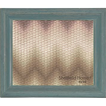 Amazoncom Home Accents Beveled Distressed Wood Picture Frame