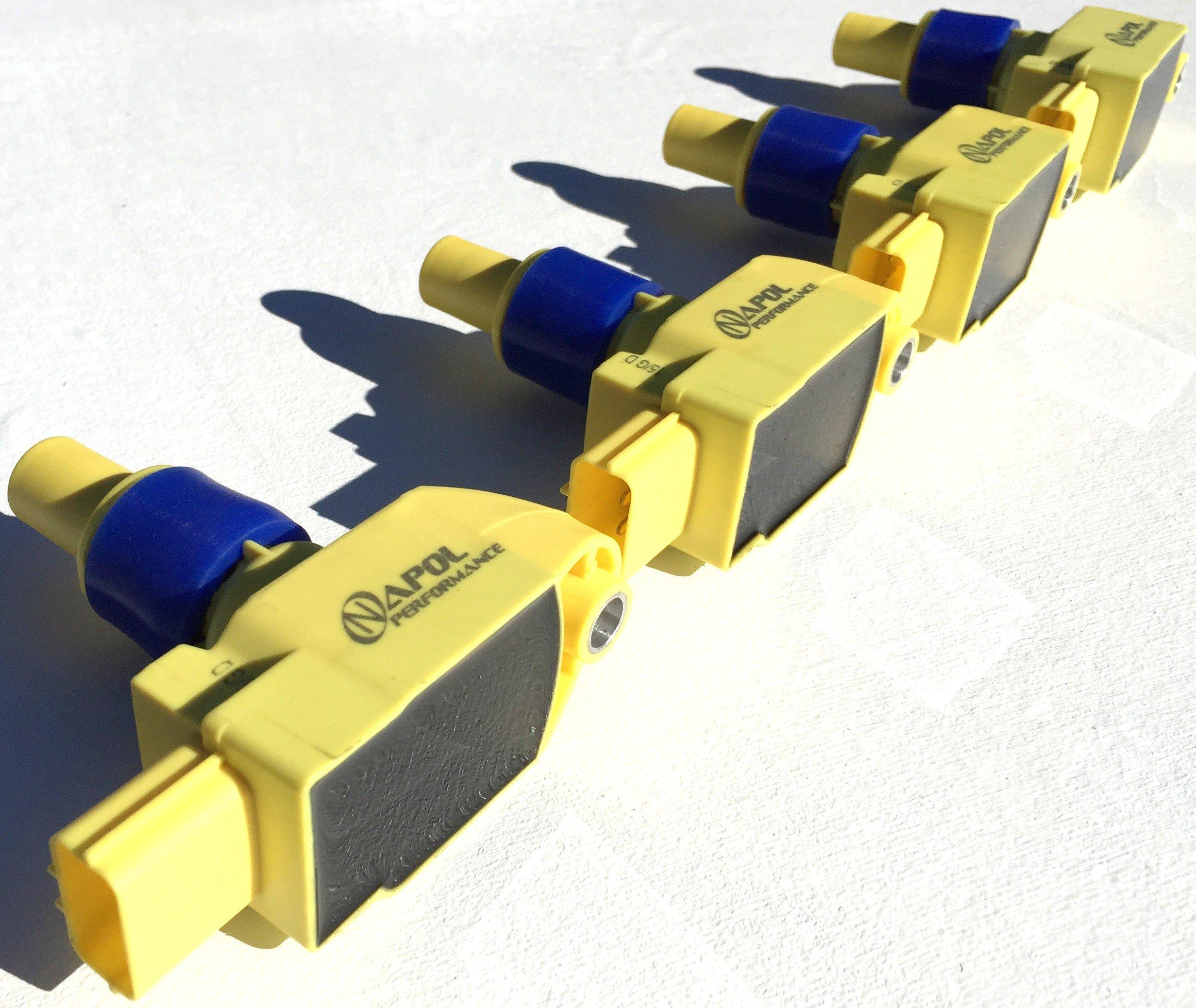 N3H118100B9U UF501 Set of 4 Ignition Coil for Mazda RX8 2004-2011 fits UF-501