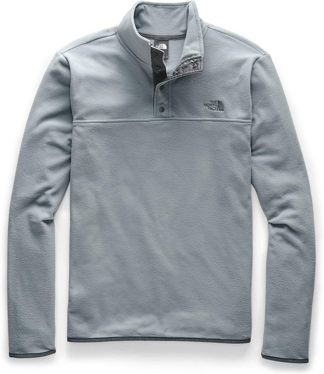 The North Face Men's TKA Glacier Snap-Neck Pullover: Clothing
