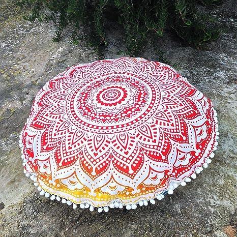 Sophia Art Ombre Mandala Piso Cojines, Manta Decorativa ...